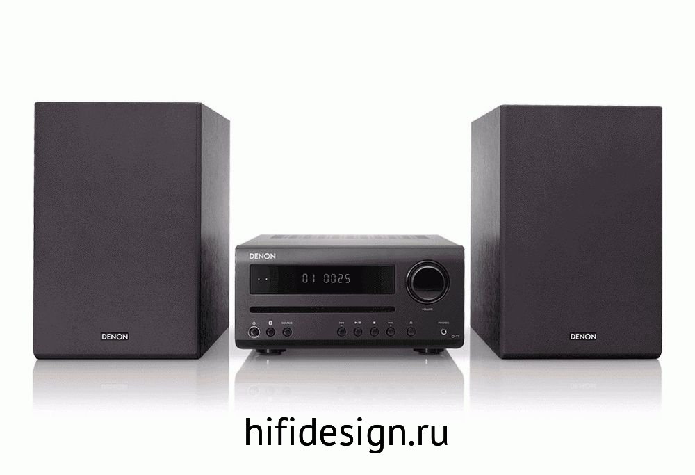 ГЉГіГЇГЁГІГј Denon T1 Mini System (Black)