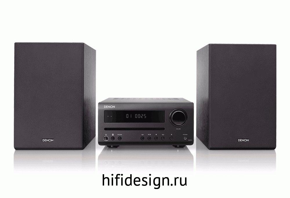 ГЉГіГЇГЁГІГј Denon T1 Mini System (Black)