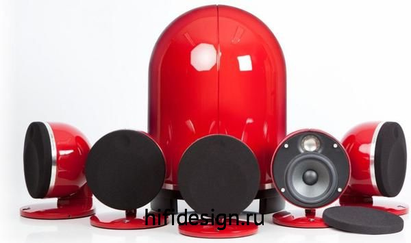 ГЉГіГЇГЁГІГј Focal Dome Pack 5.1 Red
