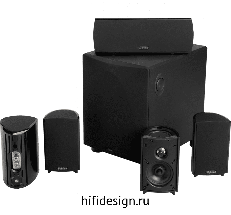 ГЉГіГЇГЁГІГј Definitive Technology ProCinema 600 Black