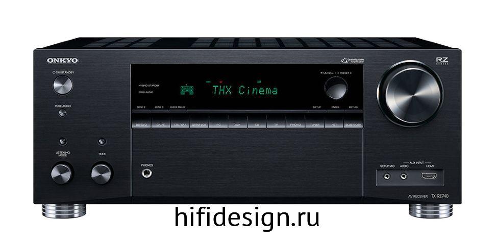ГЉГіГЇГЁГІГј Onkyo TX-RZ740 black