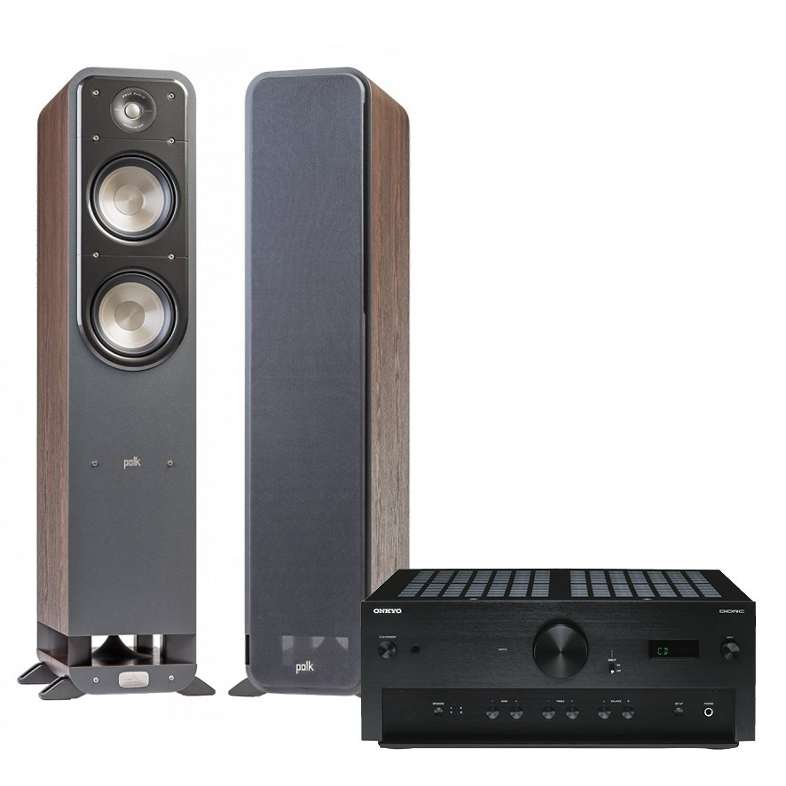 ГЉГіГЇГЁГІГј Polk Audio Signature 9070 (Polk Audio 2.0 + ONKYO) brown