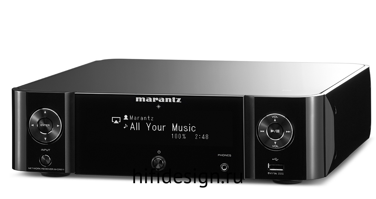 ГЉГіГЇГЁГІГј Marantz M-CR511 Black