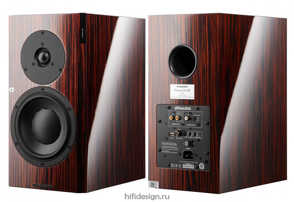 ГЉГіГЇГЁГІГј Dynaudio Focus 20 XD Rosewood Dark High Gloss